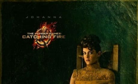 Catching Fire Gets Two New Portraits: Johanna and Beetee