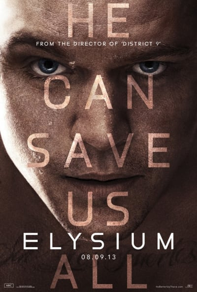 Elysium He Can Save Us Poster