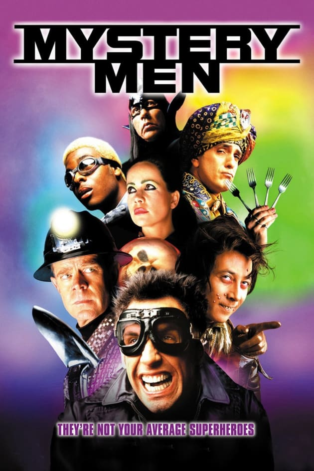 Mystery Men Movie Poster