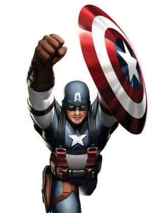 Captain America Costume Art 2