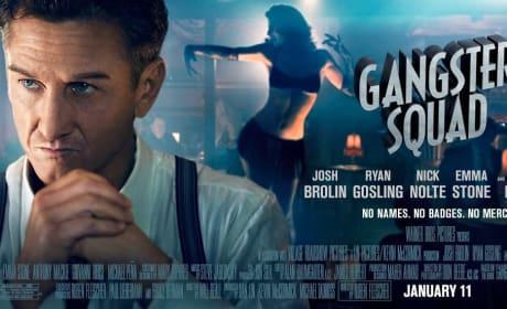 Sean Penn Gangster Squad Poster
