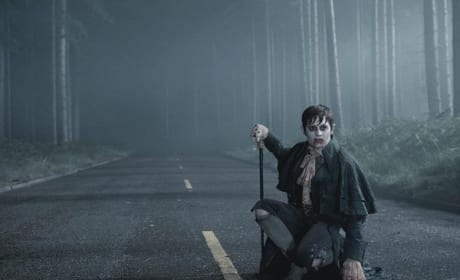 Johnny Depp in Action in Dark Shadows