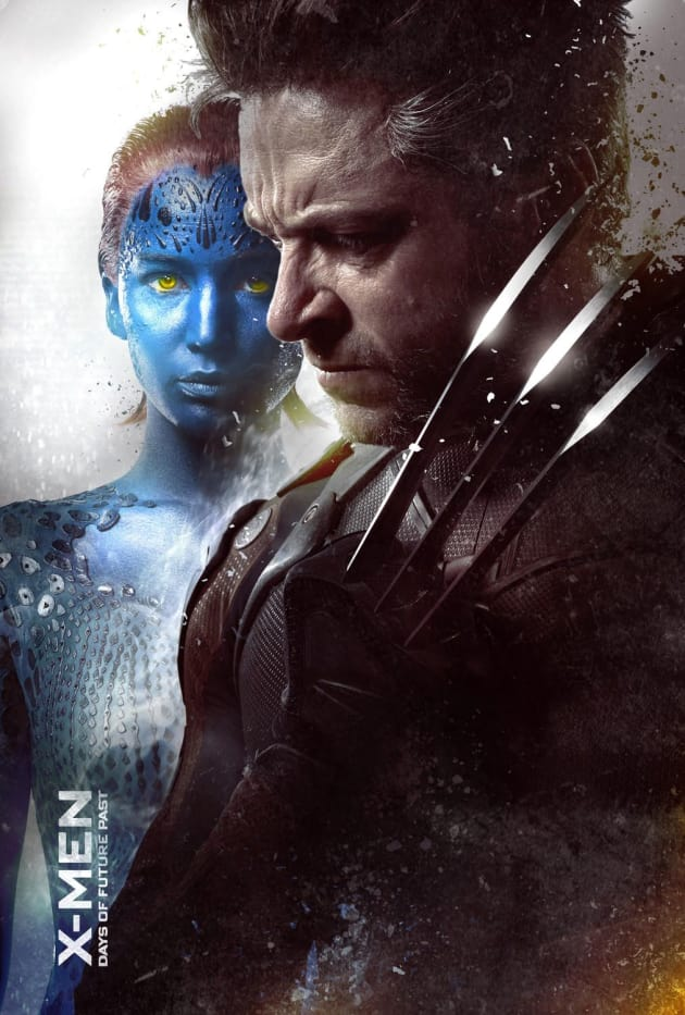 X-Men Days of Future Past Mystique Wolverine