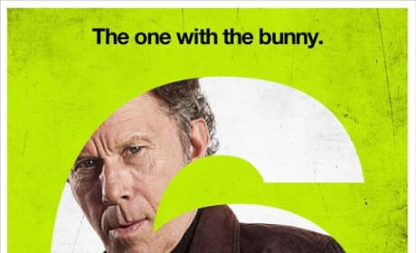 Tom Waits Seven Psychopaths Character Poster