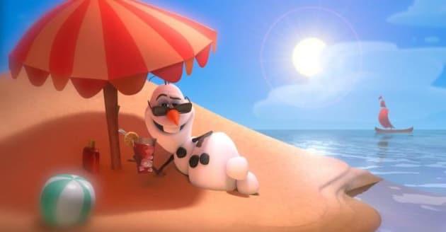 Frozen olaf summer