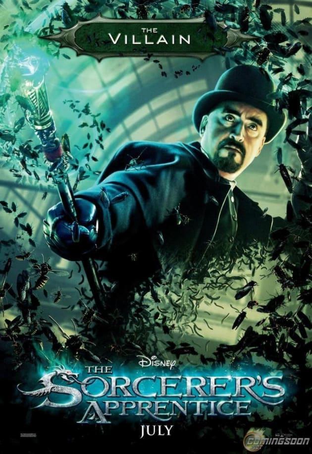 The Sorcerer's Apprentice Villain Poster