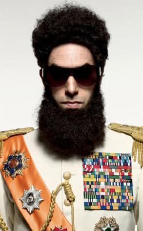 Sasha Baron Cohen as The Dictator