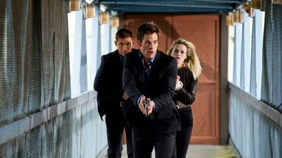 Reese Witherspoon, Chris Pine and Tom Hardy in This Means War