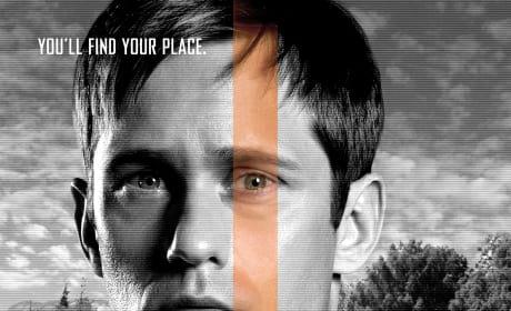 The Giver Alexander Skarsgard Character Poster