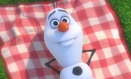 Frozen Olaf Photo