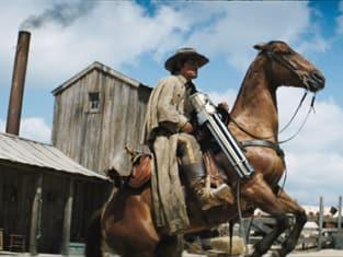 Horse-mounted Gatling Guns!