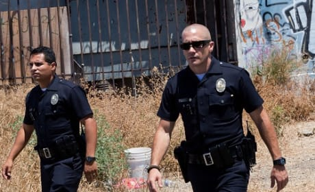 Michael Pena and Jake Gyllenhaal End of Watch