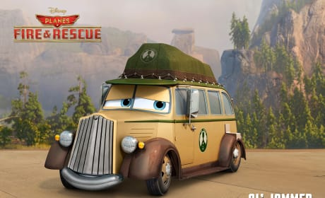 Planes Fire and Rescue Ol Jammer Poster