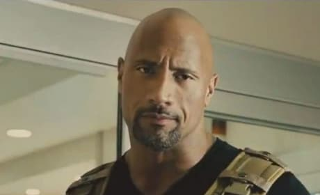 Dwayne Johnson Furious 7 Photo
