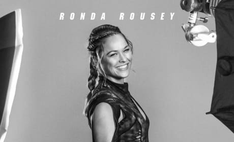 The Expendables 3 Ronda Rousey Poster