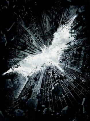 Official Dark Night Rises Teaser Poster