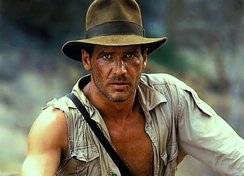 Harrison Ford is Indiana Jones