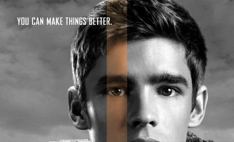 The Giver Brenton Thwaites Character Poster
