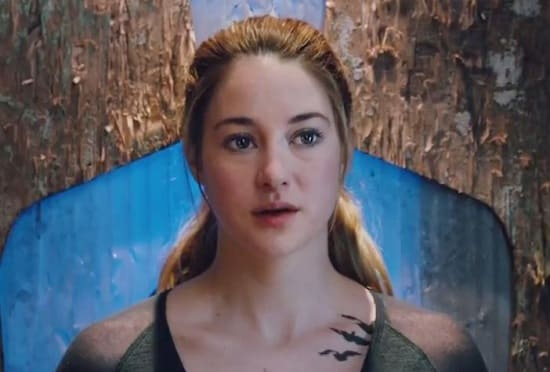 Shailene Woodley is Tris in Divergent