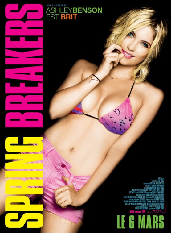 Ashley Benson Spring Breakers International Poster