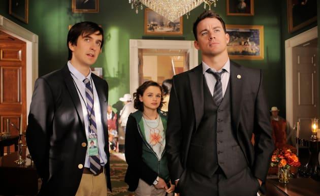 White House Down Nicholas Wright, Joey King, Channing Tatum