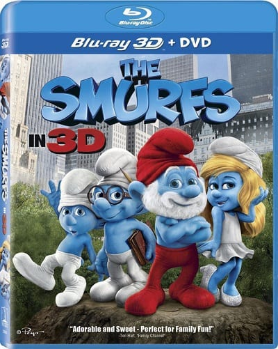 The Smurfs Blu-Ray
