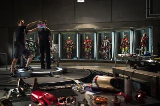 Iron Man 3 Set Photo