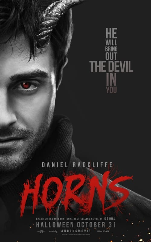 Horns Character Poster: Daniel Radcliffe