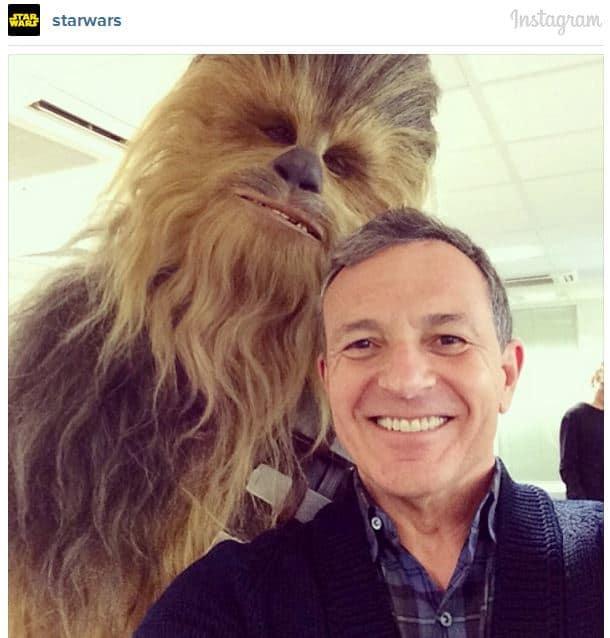Chewbacca Instagram Photo