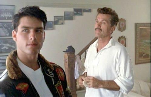 Tom Skerritt Tom Cruise Top Gun