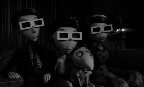 Frankenweenie Frankenstein Family