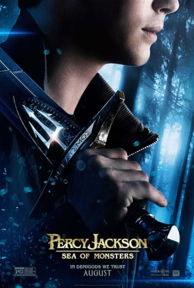 Percy Jackson: Sea of Monsters Sword Poster