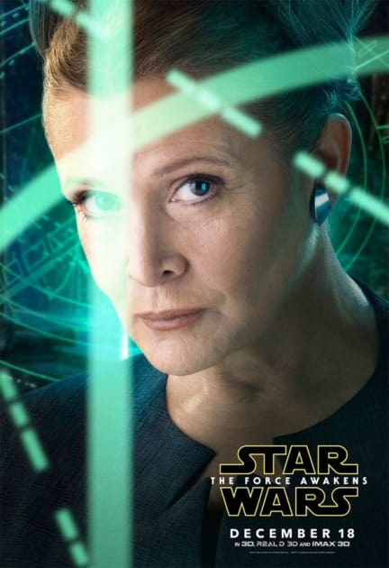 Carrie Fisher Stars as Princess Leia