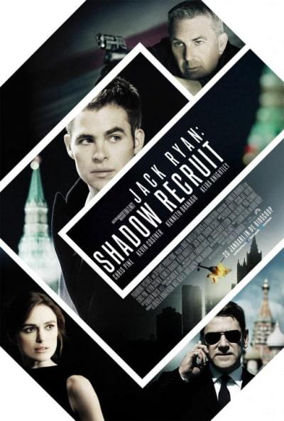 Jack Ryan Shadow Recruit International Poster