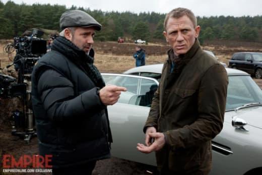 Sam Mendes and Daniel Craig Skyfall
