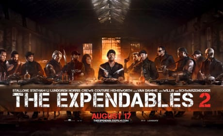 Expendables 2 Banner Parodies The Last Supper