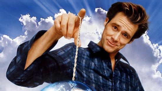 Jim Carrey in Bruce Almighty