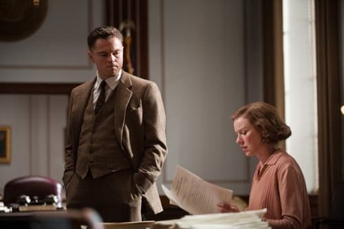 Leonardo DiCaprio in J. Edgar Trailer