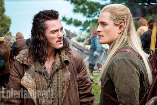 Legolas and Bard the Bowman The Hobbit: There and Back Again
