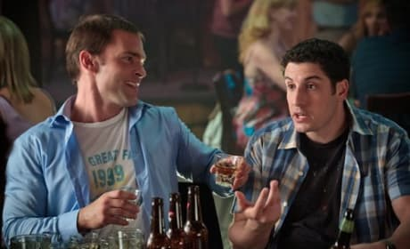 Seann Wililam Scott and Jason Biggs in American Reunion