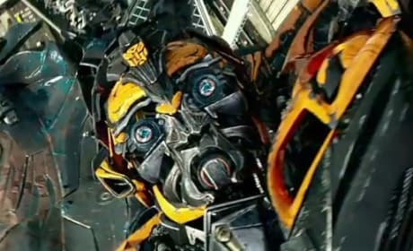 Bumblebee in Transformers Age of Extinction