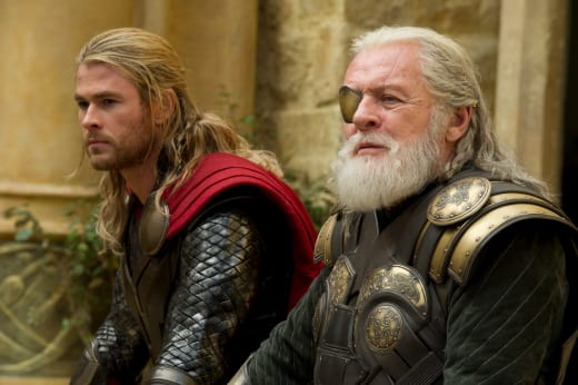 Anthony Hopkins Chris Hemsworth Thor The Dark World