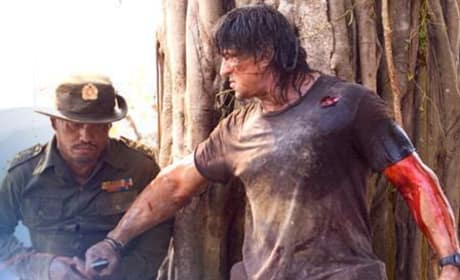 Another Picture from the New Rambo Movie