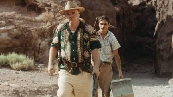 Philip Seymour Hoffman and Joaquin Phoenix The Master