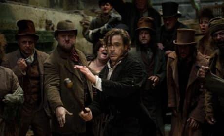Robert Downey is Sherlock Holmes