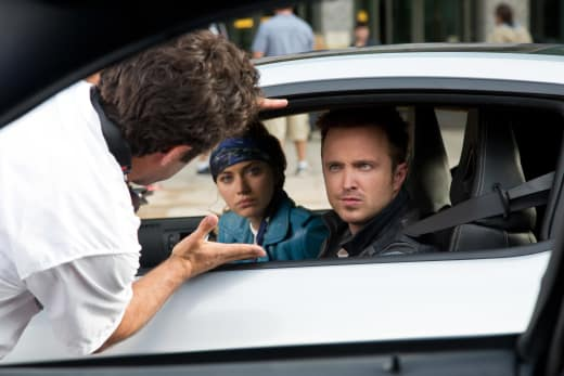 Aaron Paul Need for Speed Set