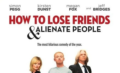 The Movie Poster for How to Lose Friends & Alienate People