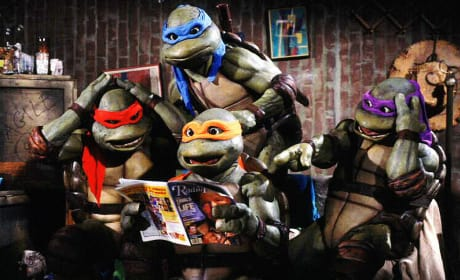 Teenage Mutant Ninja Turtles Comic Book