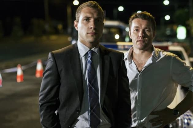 Jai Courtney and Joel Edgerton in Felony