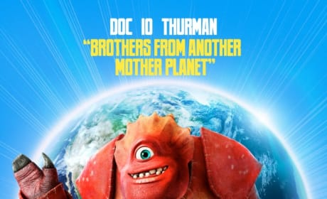 Escape From Planet Earth Doc, Io, and Thurman Poster